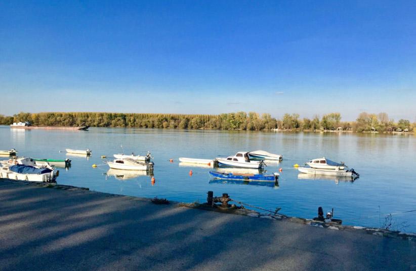 Zemun, village des pêcheurs