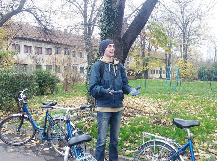 ibike guide à Belgrade @Silly, Gallieni et le quai
