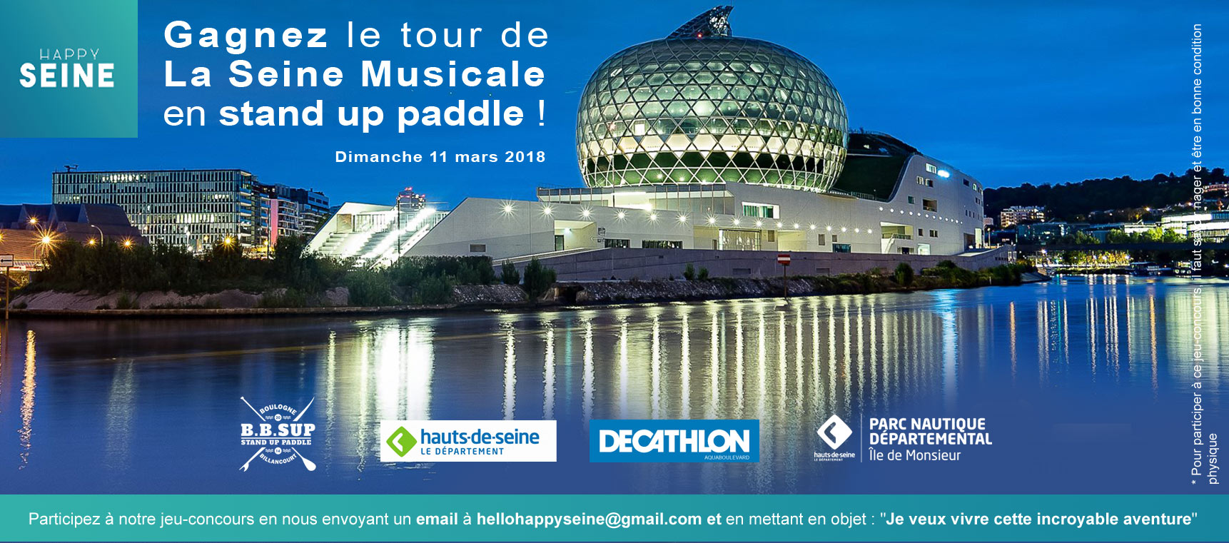 L'incroyable tour de La Seine Musicale en paddle @happy seine