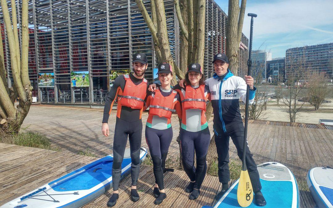 Paddle sur la Seine : nous avons testé… Et adoré
