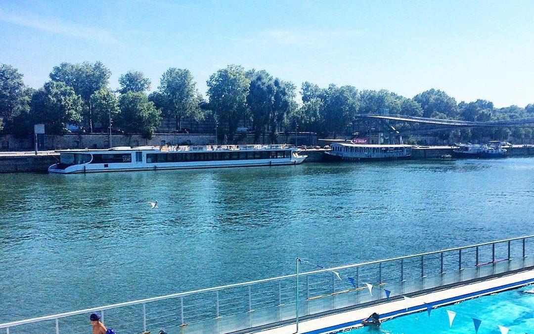 5 façons de se sentir en vacances…Sur la Seine