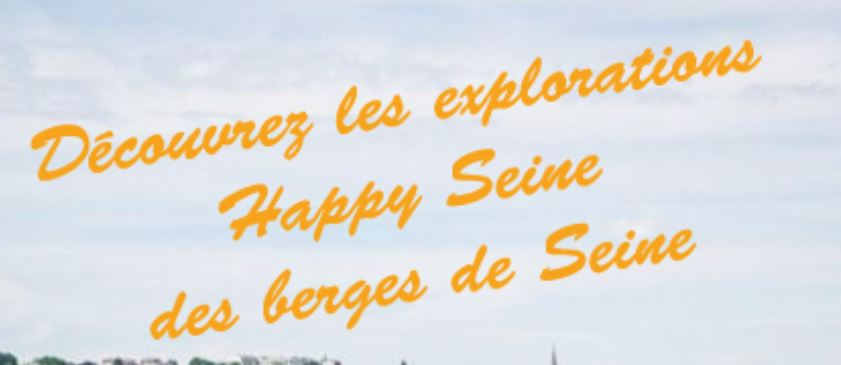 ★ Berges de Seine : la première exploration Happy Seine (3 heures)