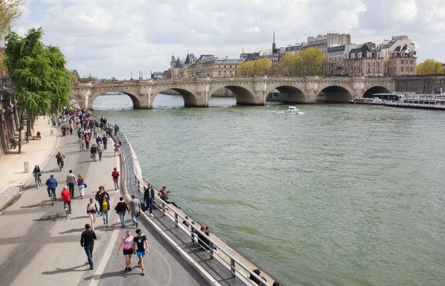 Les balades en bord de Seine