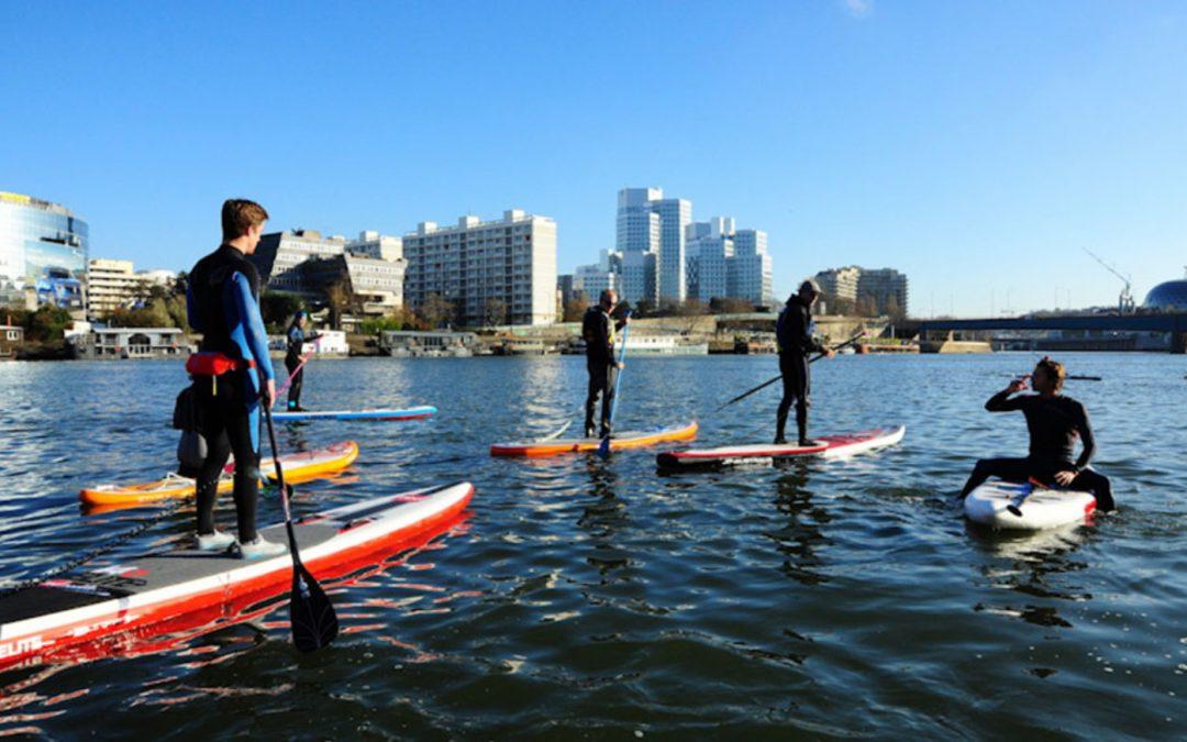 Sup paddle : l'activité tendance à faire avec vos amis !