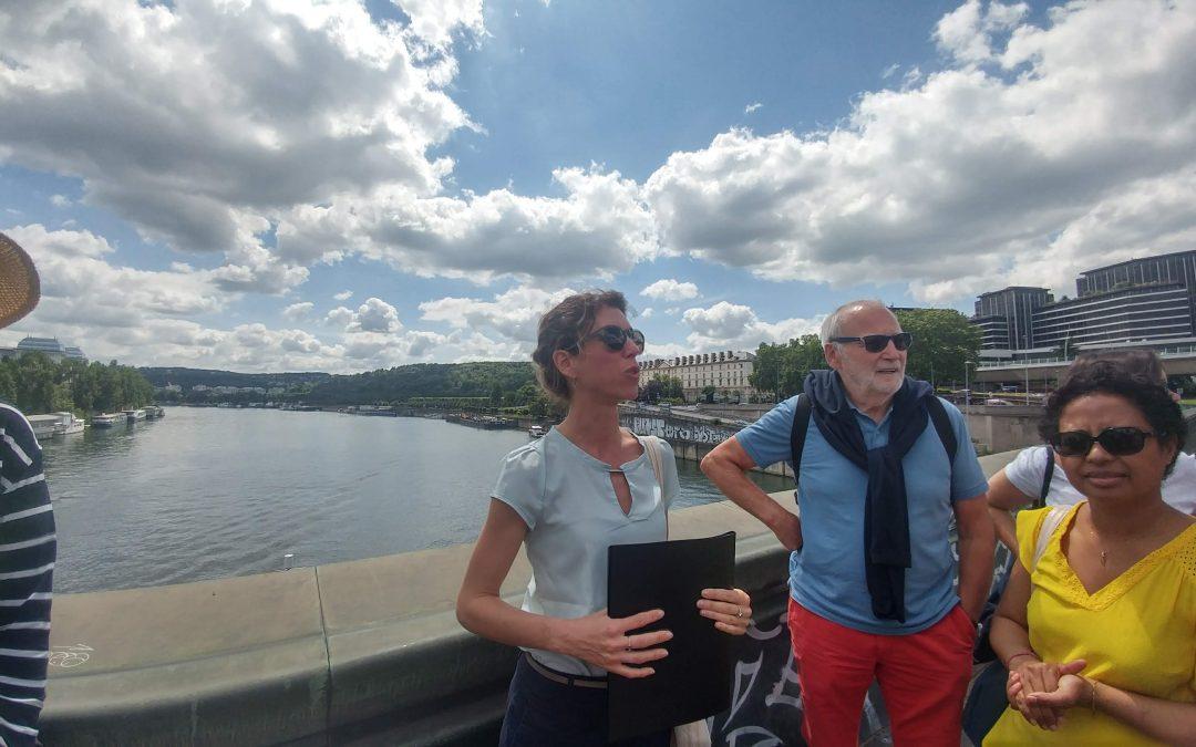 Exploration des berges de Seine : un moment de découverte avec Happy Seine