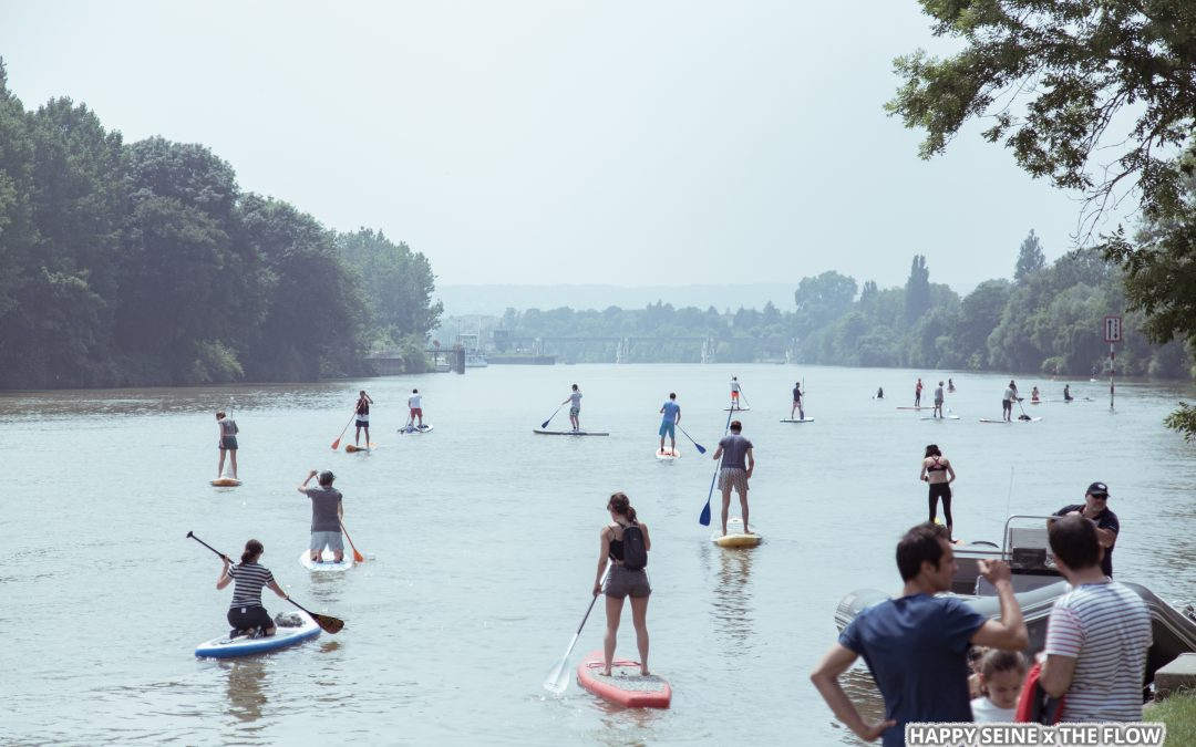 Comment faire du paddle sur la Seine ?