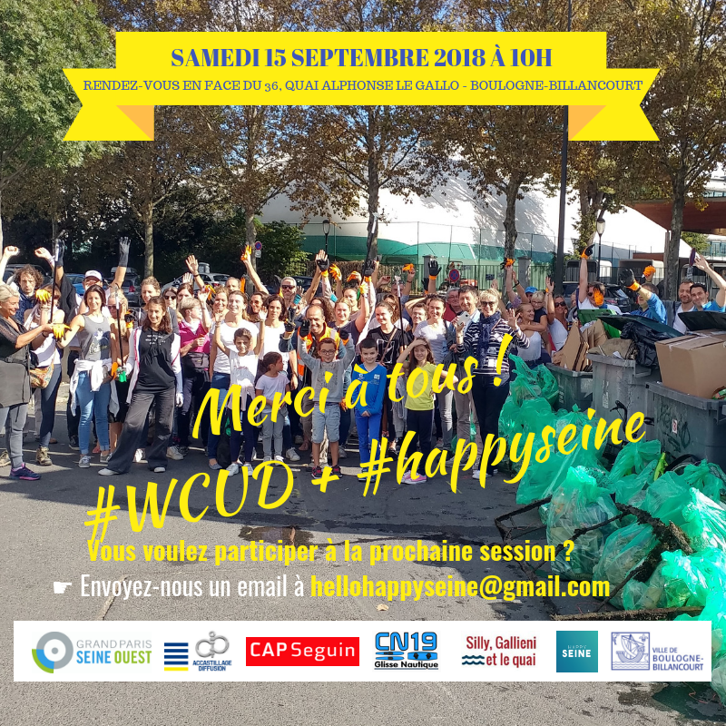 world clean up day seine