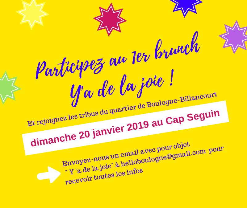 Brunch Y a de la Joie : Inscrivez-vous au brunch en bord de Seine