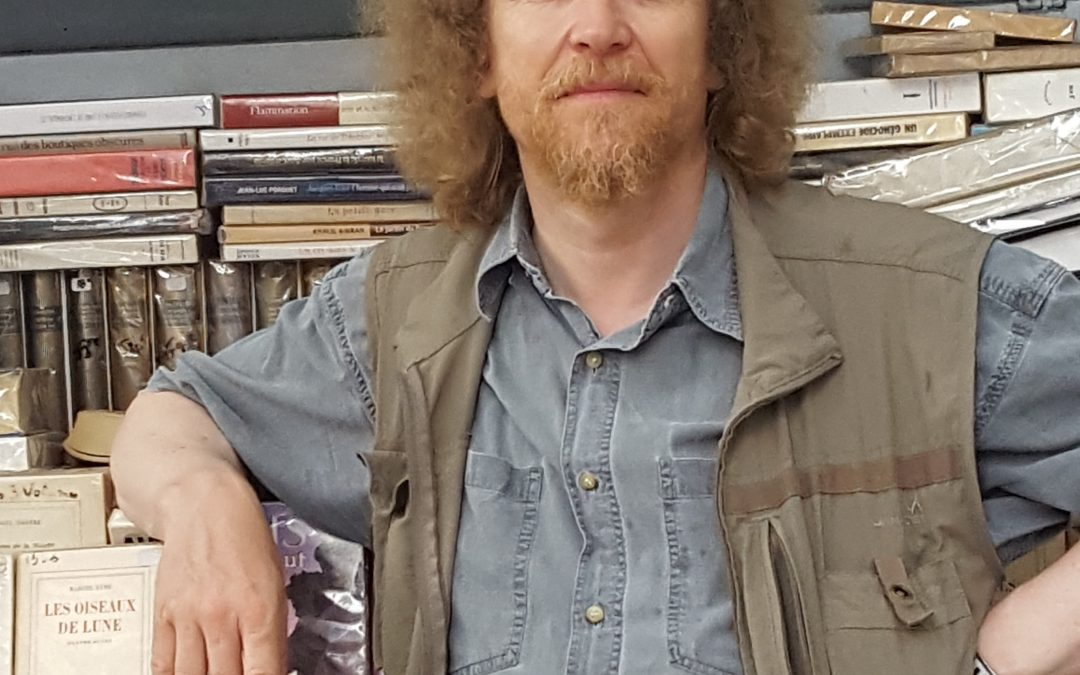 Jérôme Callais : « la Seine est une librairie à ciel ouvert unique au monde »