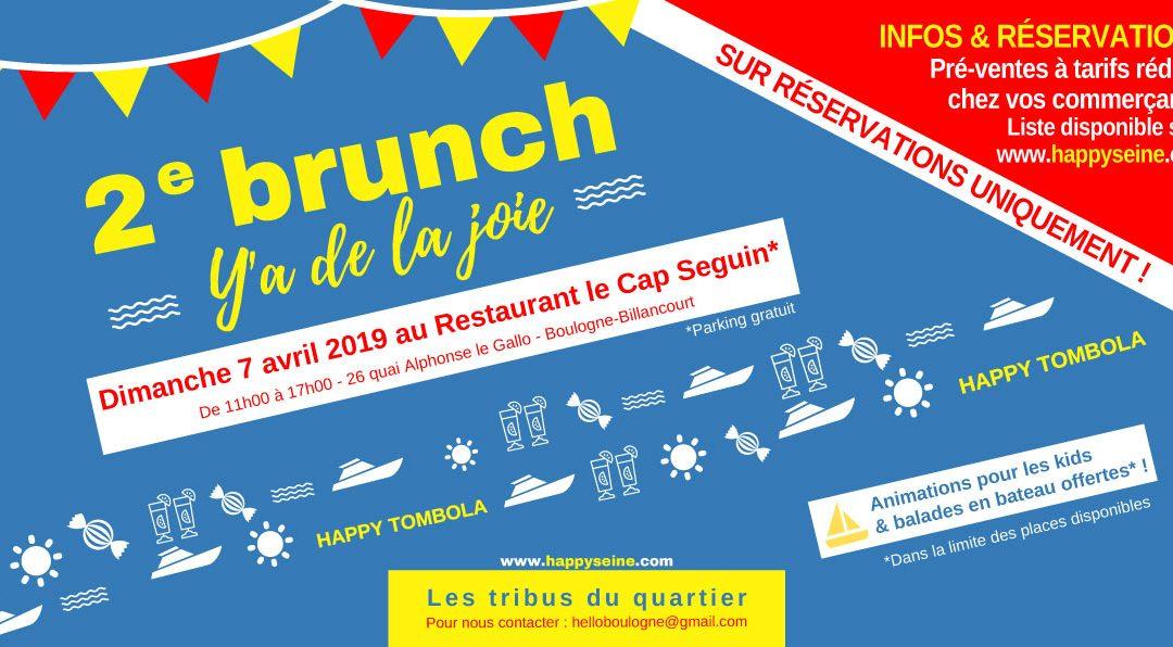 Brunch Y'a de la joie : dimanche 7 avril au Cap Seguin avec les tribus du quartier