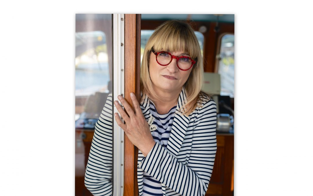 "Christine Bravo : ""La Seine, c'est jubilatoire !"""
